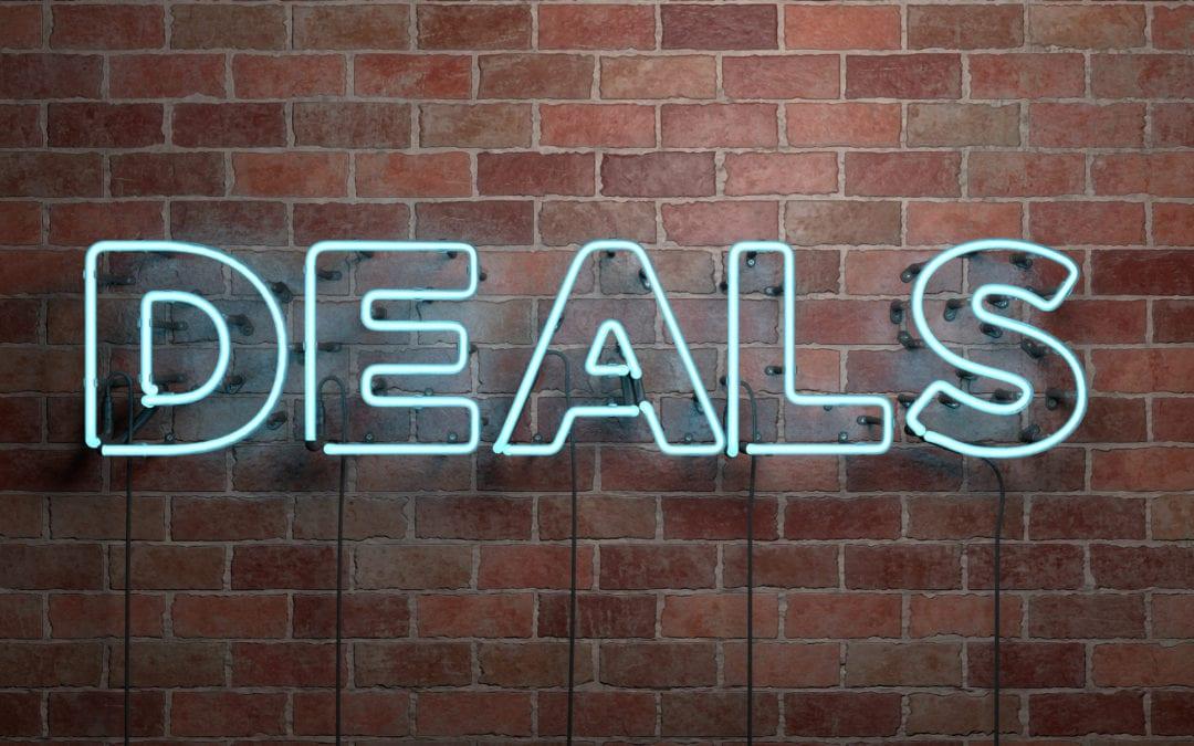 Deals? We've got those